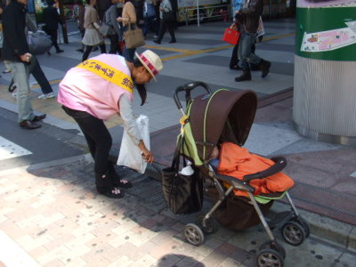 赤ちゃんと参加
