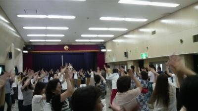 盆踊りの練習