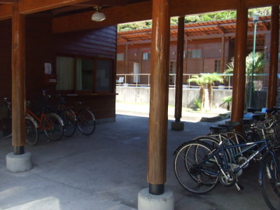 貸し自転車もありますセンター3